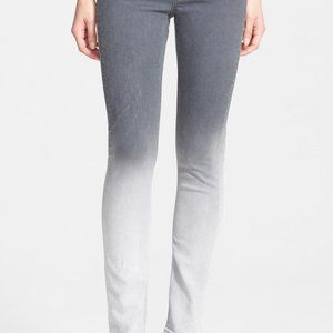 Rag and Bone The Dre Gray Ombre Jeans Size 30